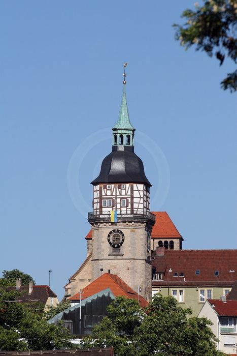 die Stiftskirche in Backnang   - weiter zur Fotogalerie