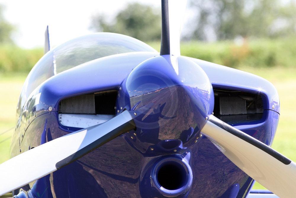 3-Blatt Propeller einer Kunstflugmaschine, MSW One Design von Max Vogelsang, Pilot Don Vito Wypr�chtiger   - weiter zur Fotogalerie