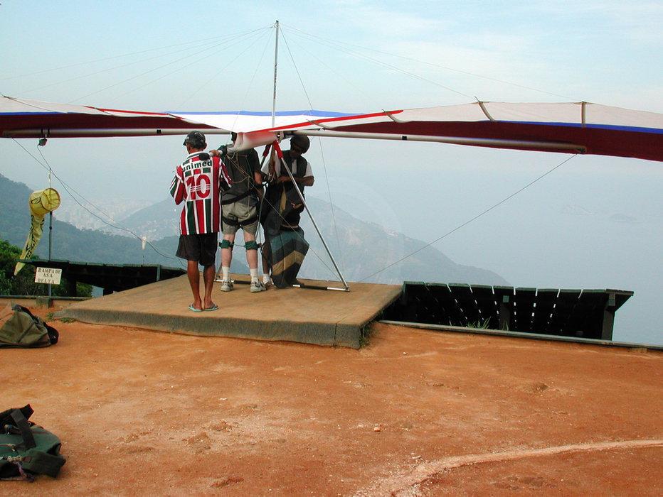 Hang Glider Startrampe   - weiter zur Fotogalerie